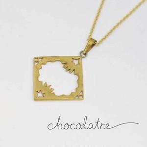 chocolatre「オペラ(大)」ブラスペンダント