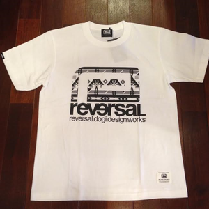 "reversal / リバーサル | "" BNO BIG MARK COTTON TEE "" - White"