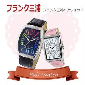 【ペアウォッチ】フランク三浦 インターネッツ別注  腕時計 FM06IT-CRBK FM01IT-SVPK