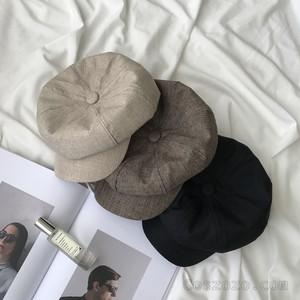 【小物】シンプル ファッション ギャザー飾り帽子27086950