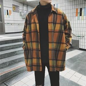 [GOOD]ビックサイズフランネルジャケット 2カラー