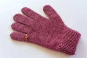 ピンキーリングの手袋 ピンク《11月後半以降お届け予定》