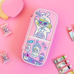 「ピンク うさぎちゃん」ペンケース BENTOY Milkjoy