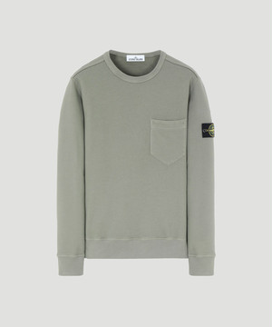 Stone Island Crew Neck Sweat Olive 711563820