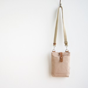 CANVAS CHALK BAG / PINK BEIGE