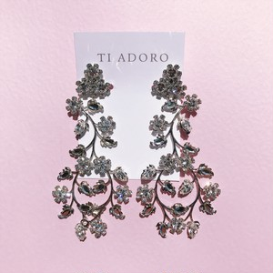【Ti Adoro Jewelry】Flower Vineイヤリング