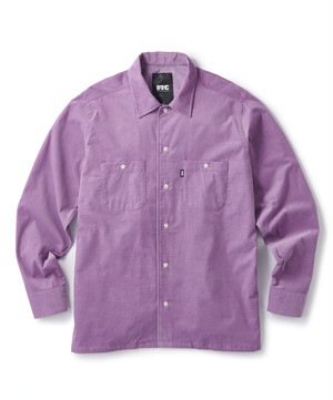FTC / CORDUROY WORK SHIRT -PURPLE-