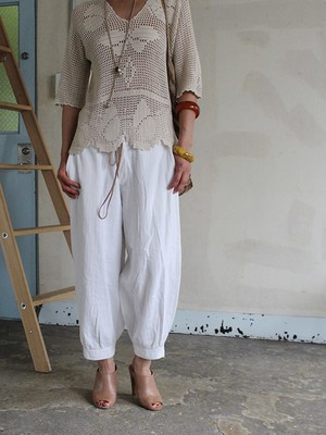 20s cotton trousers