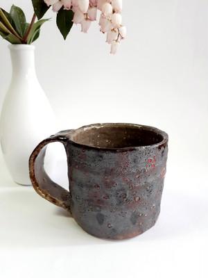 墨色のマグカップ
