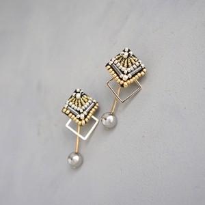 pierced earrings C-XP01/earrings C-XE01<black>