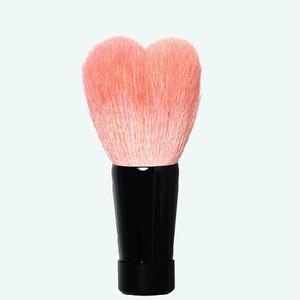 ハート型洗顔ブラシ 中 ピンク/黒軸