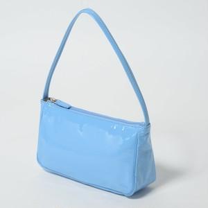 【豚革】エナメル極軽ハンドバッグ 日本豚革 レザーエナメル ショルダーバッグ 軽い カラフル 443111