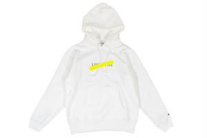 【neon logo hoodie】 / white