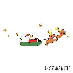 クリスマスモチーフ Christmas motif 0040-G