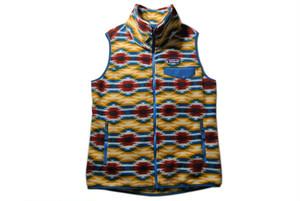 PATAGONIA   W's Snap-T Vest   (Wild Desert/Prairie Gold)