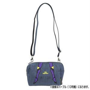 RADIO EVA 699 EVANGELION Pouch Shoulder Bag by mis zapatos/ブラック(初号機)/ EVANGELION エヴァンゲリオン