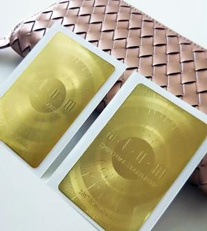 クォンタムリッチ・ピンクゴールドレザー財布