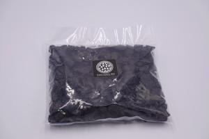 大粒 デコ砂利 マットブラック 化粧石1kg (1袋)