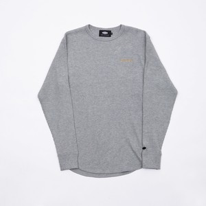 CRATE Waffle L/S T-Shirts GRAY