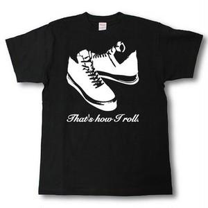 デザインTシャツ kick ass #7  黒T
