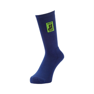 WHIMSY - THIS SIDE UP SOCKS (Navy)