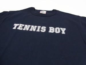 TENNIS BOY Champion Tee ネイビー×ホワイト TS-106