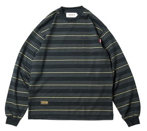 TIGHTBOOTH BOARDER L/S T-SHIRTS BLACK L タイトブース ボーダー ロンT