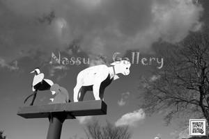 動物さん達の可愛いモニュメントモノクロ~Animal cute monuments-Monochrome~