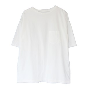 SOLID COLOR S/S POCKET TEE(CAL O LINE)