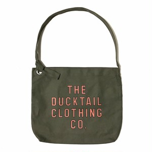 "DUCKTAIL CLOTHING ""NEWSPAPER BAG"" OLIVE ダックテイル クロージング ニュースペーパー バッグ"