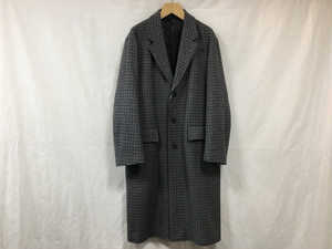 "UNIVERSALS PRODUCTS.""CHEACK CHESTER COAT GRAY CHECK"""