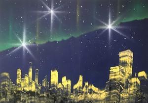 『オーロラ都市』奇跡の瞬間。