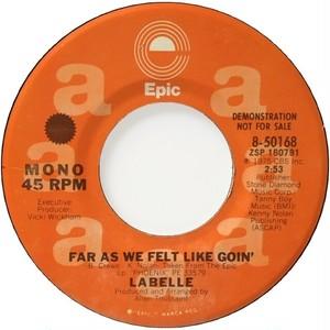 LaBelle – Far As We Felt Like Goin'