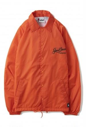 GOODSPEED equipment / Lettering logo coach JKT (orange)