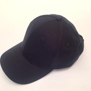 National Solid 6 Panel Cap Black