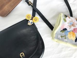 Mimi 3way bag charm ー Damask ー