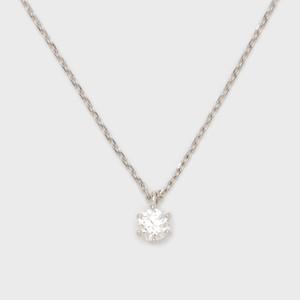 ENUOVE frutta Diamond Necklace Pt950(イノーヴェ フルッタ 0.25ct プラチナ950 ダイヤモンドネックレス スライドアジャスターチェーン)