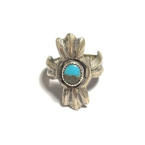 Vintage/ヴィンテージ Old navajo turquoise ring