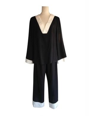 Pajama set up Noir パジャマセットアップ ノワール