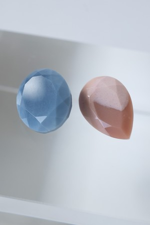 Pink & Blue Opal Set - 017