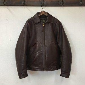 "NIGEL CABOURN ""FLIGHT JACKET(HORSE LEATHER)"""
