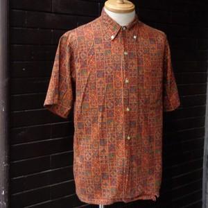 60's BRENT Pattern Short Sleeve Shirt 60年代 ブレント 総柄半袖シャツ