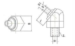JTASN-1/8-10 高圧専用ノズル