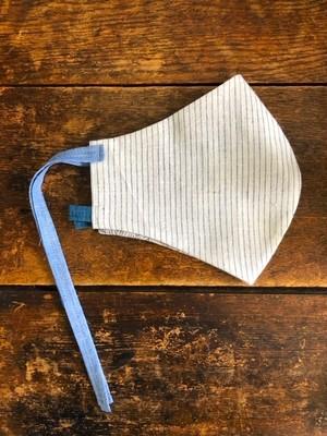 【NEW】Khadi cotton マスク /  ストライプ