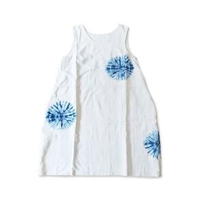 リネン ノースリーブ ワンピース Linen Sleeveless One-piece Dress