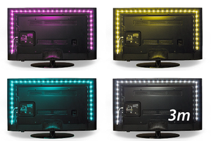 Luminoodle COLOR TV backlight(3.0m)