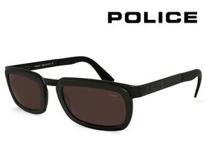 ポリス ヴィンテージ サングラス 2413-703 police レトロ 訳あり メンズ バネ蝶番 コンビネーション UVカット