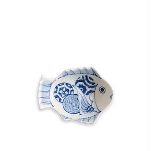 招福鯛クラシック 丸文豆皿