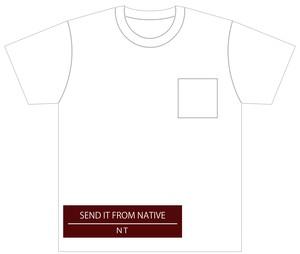 DCC2016 Tシャツ ホワイト 胸ポケット付き