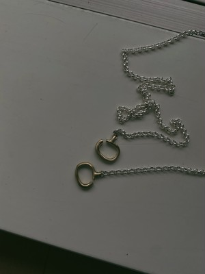 raw 2way mask chain (necklace)